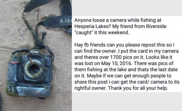 """Đi câu cá lại """"câu"""" được chiếc máy ảnh chứa 1.700 bức ảnh dưới hồ, cô gái đăng lên MXH tìm chủ nhân nhưng kết cục khiến 3 người phải vào tù - Ảnh 3."""