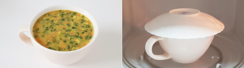 Dùng lò vi sóng làm món trứng hấp chỉ trong 10 phút cho bữa sáng ngon miệng - Ảnh 5.