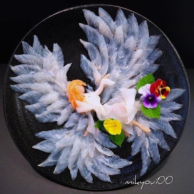 Trầm trồ trước tài nghệ bếp núc đầy nghệ thuật của ông bố Nhật Bản: Biến những lát sashimi đơn điệu thành tranh 3D sống động! - Ảnh 23.
