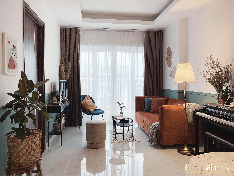 Căn hộ 66m² màu cam đất ấm cúng và trẻ trung của cặp vợ chồng trẻ tự tay thiết kế có chi phí 150 triệu đồng ở Sài Gòn - Ảnh 2.