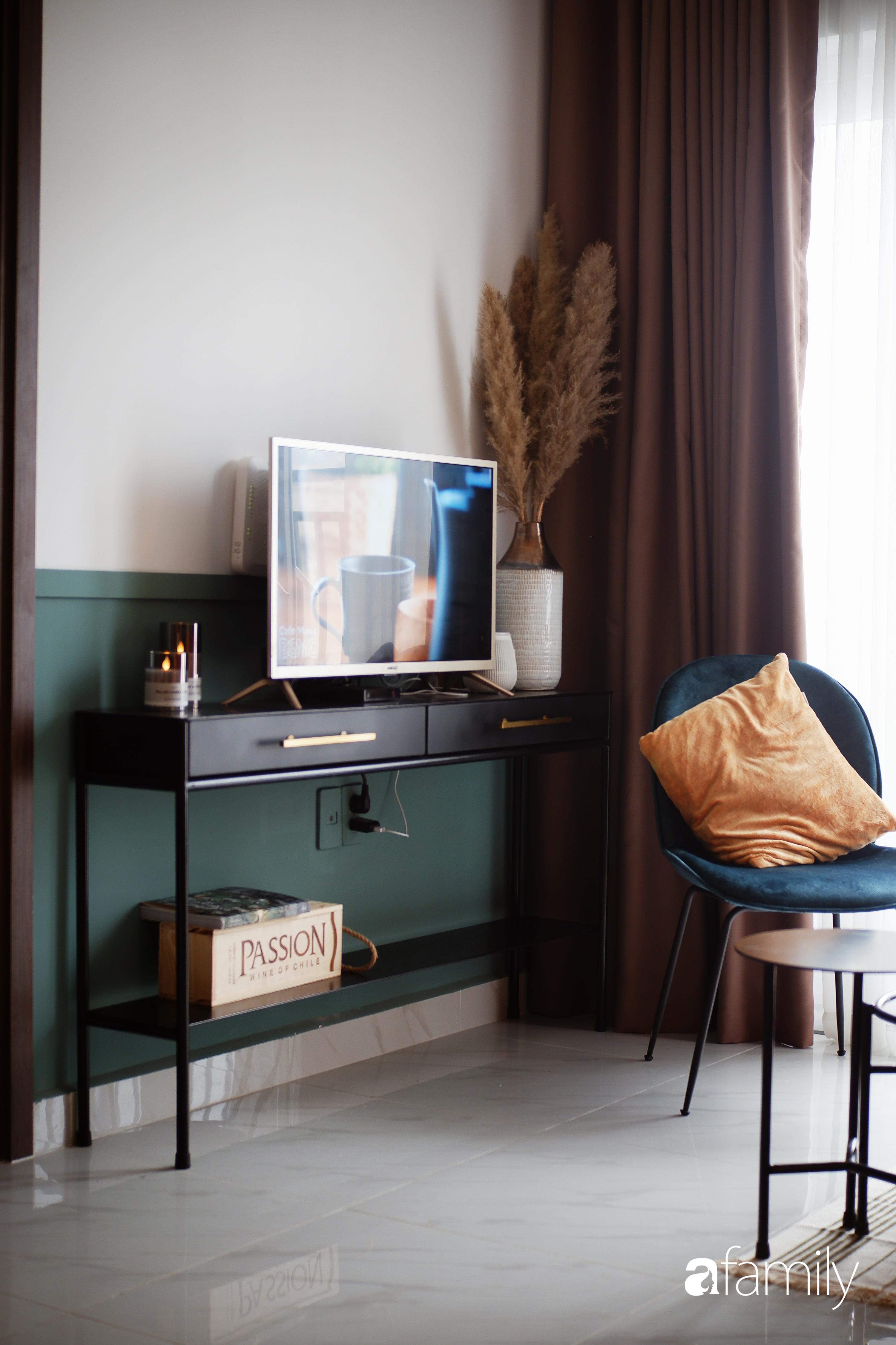 Căn hộ 66m² màu cam đất ấm cúng và trẻ trung của cặp vợ chồng trẻ tự tay thiết kế có chi phí 150 triệu đồng ở Sài Gòn - Ảnh 5.