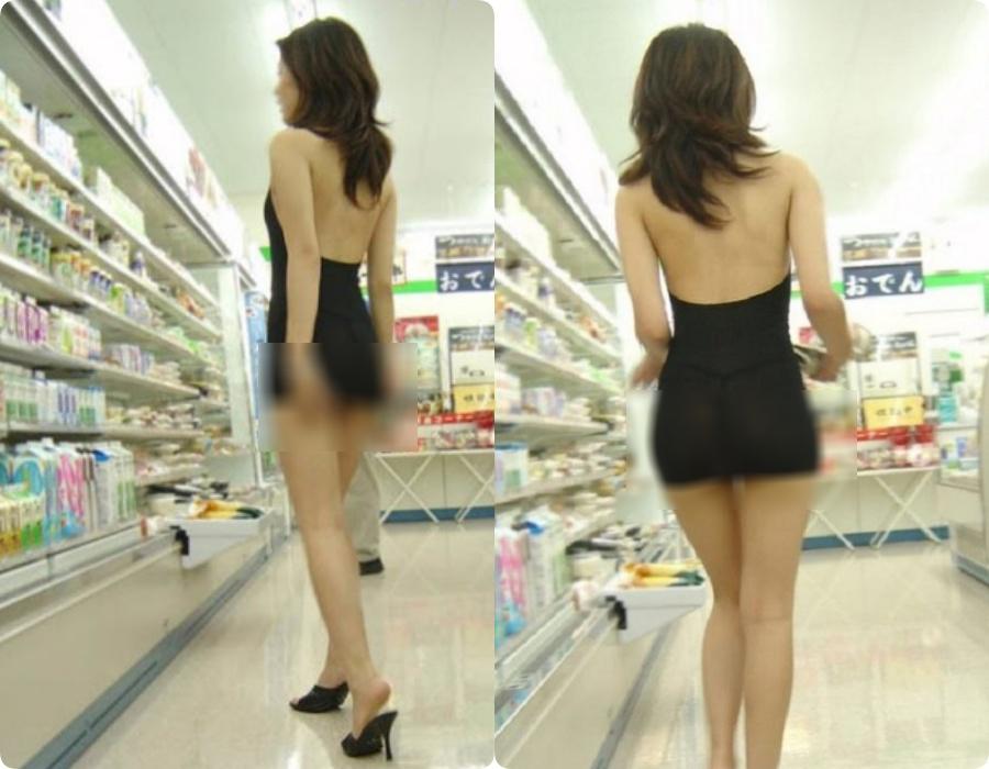 Đi siêu thị mua đồ mà cũng diện váy khoét nọ xẻ kia, những bộ cánh của chị em khiến các anh em phải... câm nín - Ảnh 1.