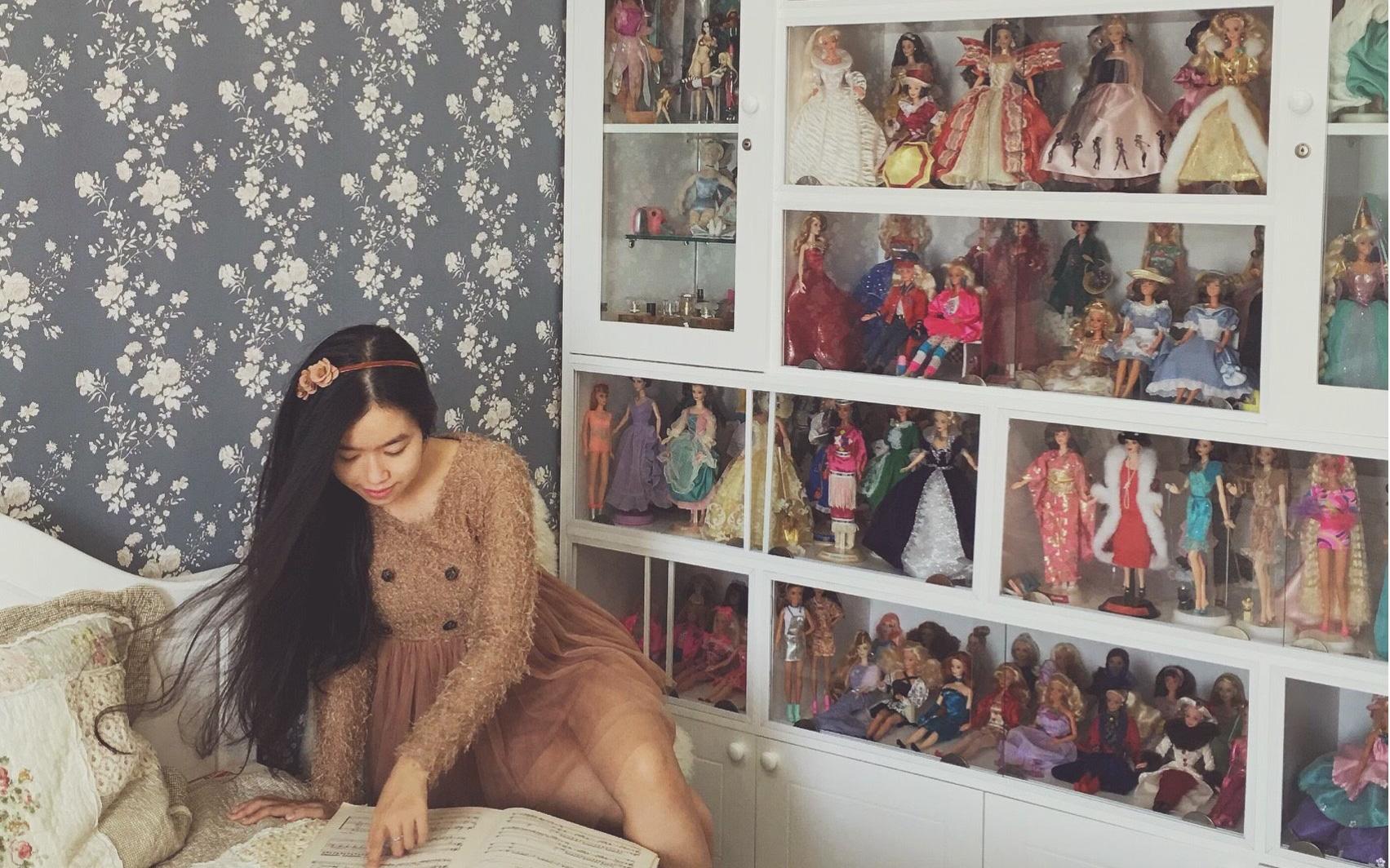 Căn hộ 80m² với phong cách vintage và bộ sưu tập hàng trăm búp bê của cô giáo dạy đàn ở thành phố biển Nha Trang