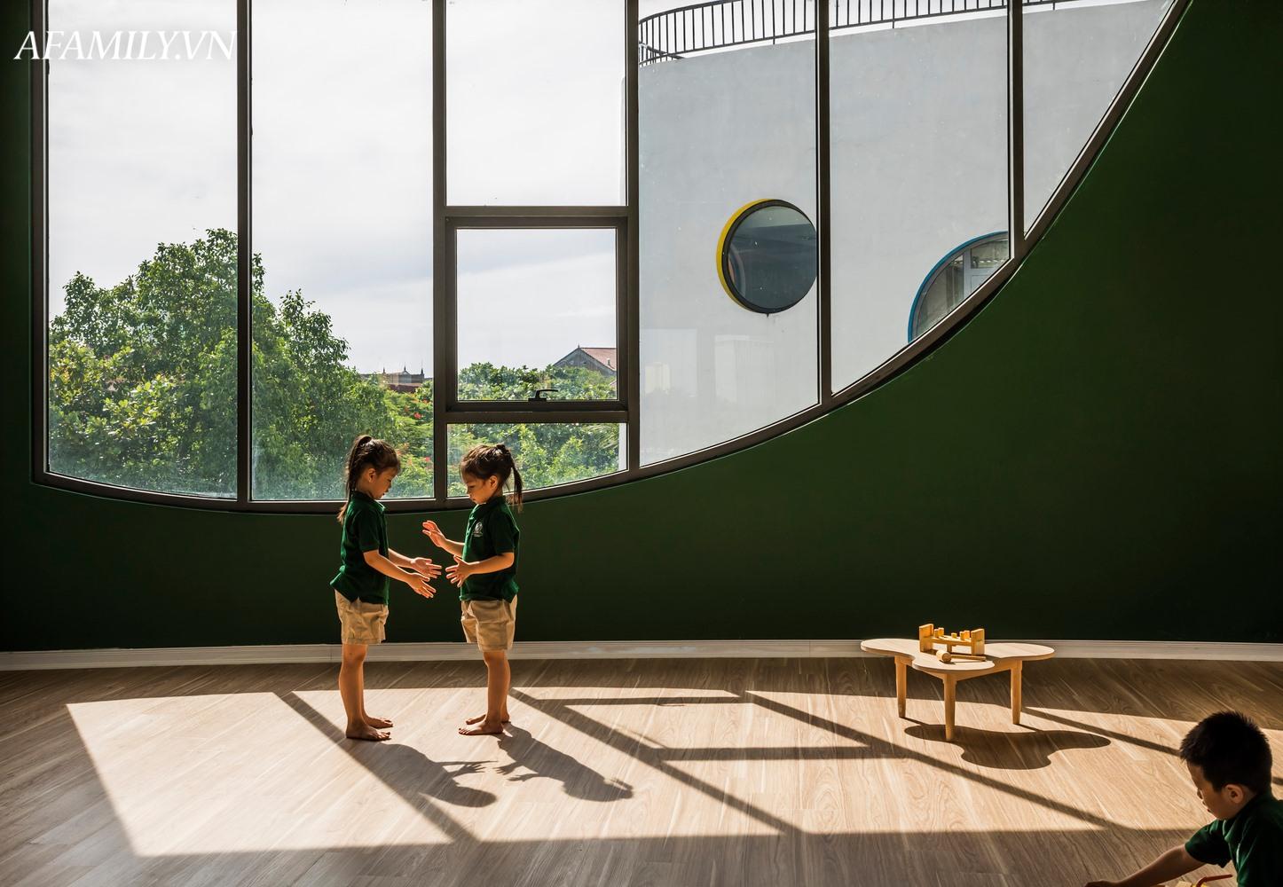 Ngắm trường mầm non đẹp như mơ với thiết kế độc đáo, bố mẹ nào cũng mê tít trong lần đến đầu tiên - Ảnh 14.