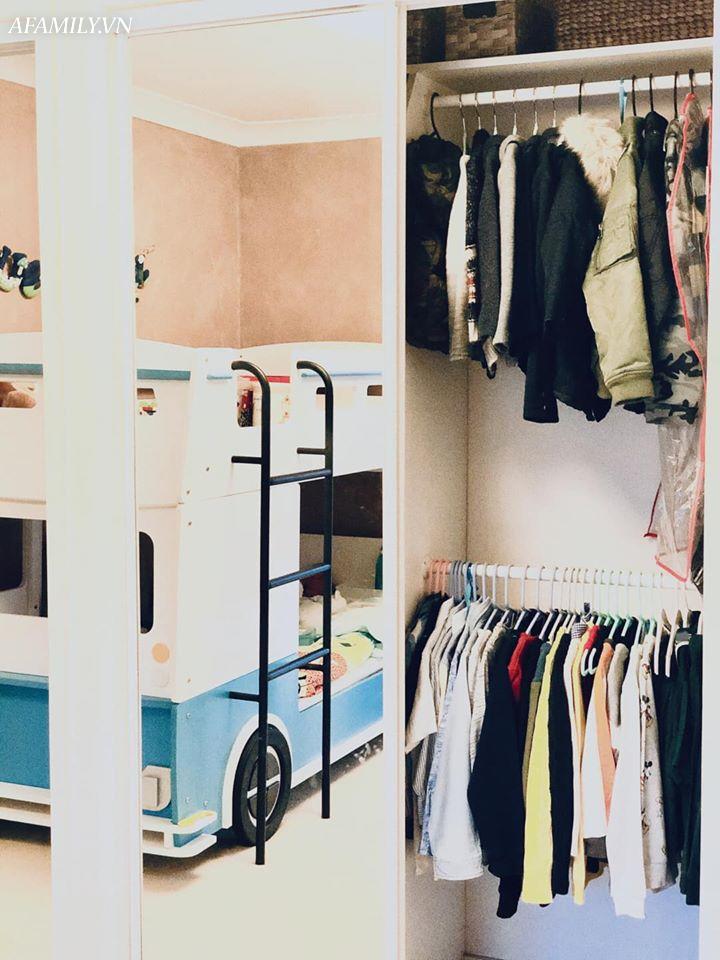 Mê mẩn với tủ quần áo gấp ngăn nắp như trên tạp chí thời trang, tiết lộ danh tính chủ nhân khiến các mẹ phải ngỡ ngàng - Ảnh 7.