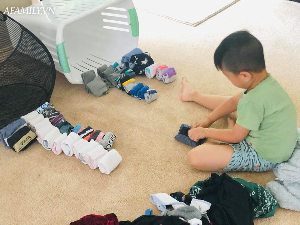 Mê mẩn với tủ quần áo gấp ngăn nắp như trên tạp chí thời trang, tiết lộ danh tính chủ nhân khiến các mẹ phải ngỡ ngàng - Ảnh 1.