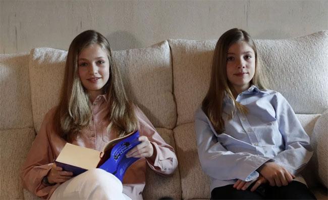 Ngay từ nhỏ công chúa Tây Ban Nha đã được giáo dục nghiêm khắc và kỷ luật như thế này. Muốn trở thành nữ hoàng trong tương lai không phải là điều dễ dàng! - Ảnh 3.