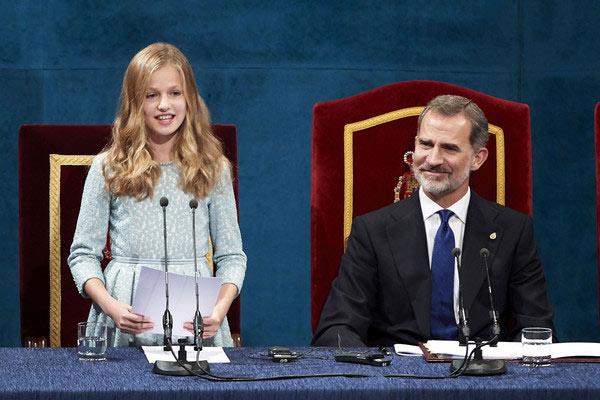Ngay từ nhỏ công chúa Tây Ban Nha đã được giáo dục nghiêm khắc và kỷ luật như thế này. Muốn trở thành nữ hoàng trong tương lai không phải là điều dễ dàng! - Ảnh 5.