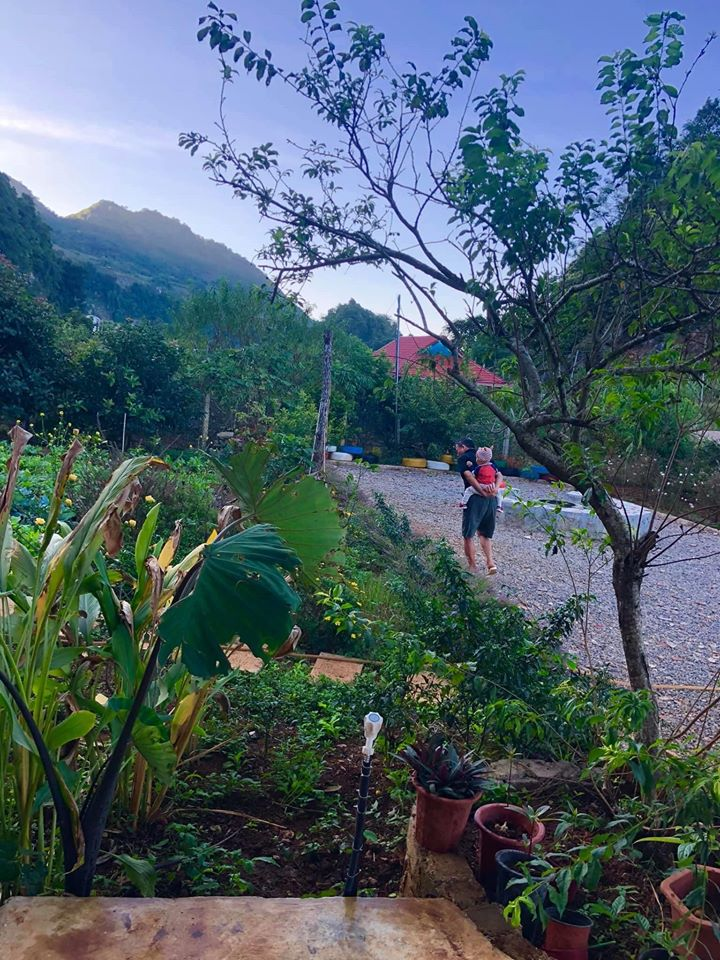Quá áp lực và mệt mỏi với cuộc sống ở Hà Nội, vợ chồng trẻ quyết bỏ công việc ổn định, mang 200 triệu lên bản Áng Mộc Châu mua đất, xây nhà, làm vườn sống an yên - Ảnh 3.