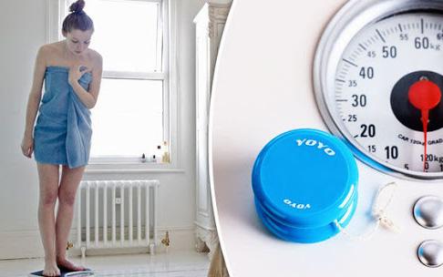 Hiệu ứng yoyo khiến cơ thể giảm cân thành công rồi lại mập lên như cũ