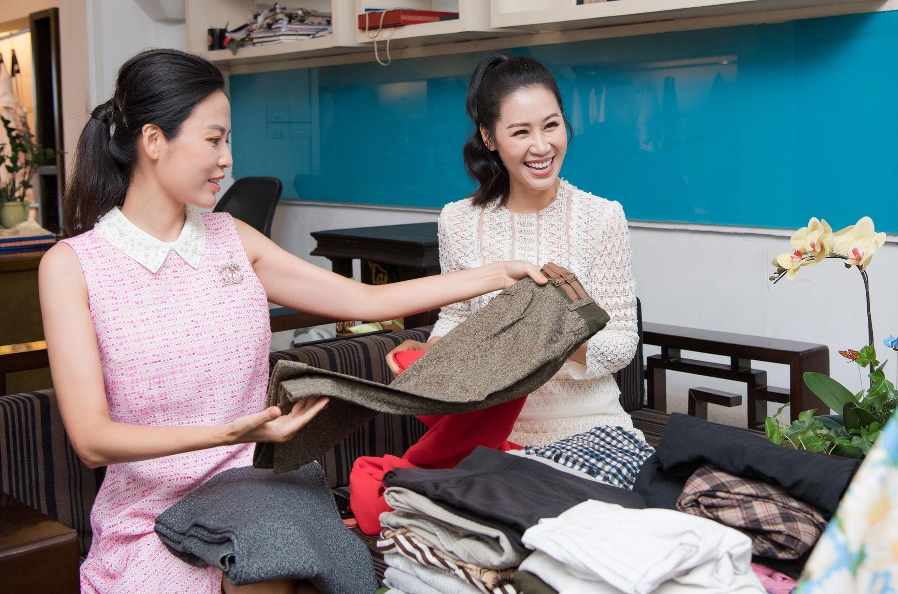 Á hậu Thụy Vân quyên góp trang phục cũ ủng hộ chiến dịch tái chế của NTK Xuân Lê - Ảnh 2.