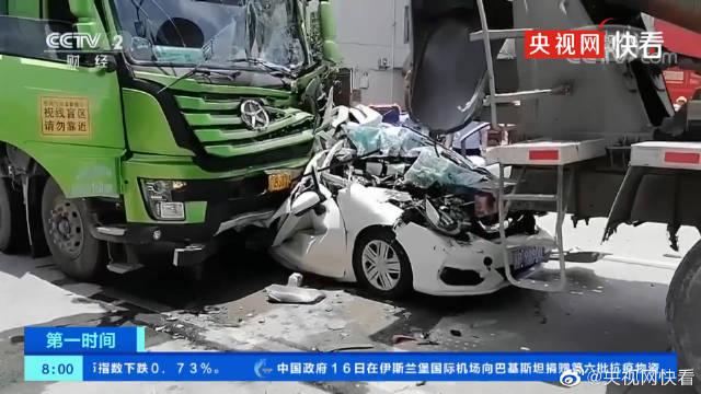 Thoát chết một cách thần kỳ sau tai nạn kép kinh hoàng, nữ tài xế bật khóc nức nở dù không gặp thương tổn nặng nào - Ảnh 2.