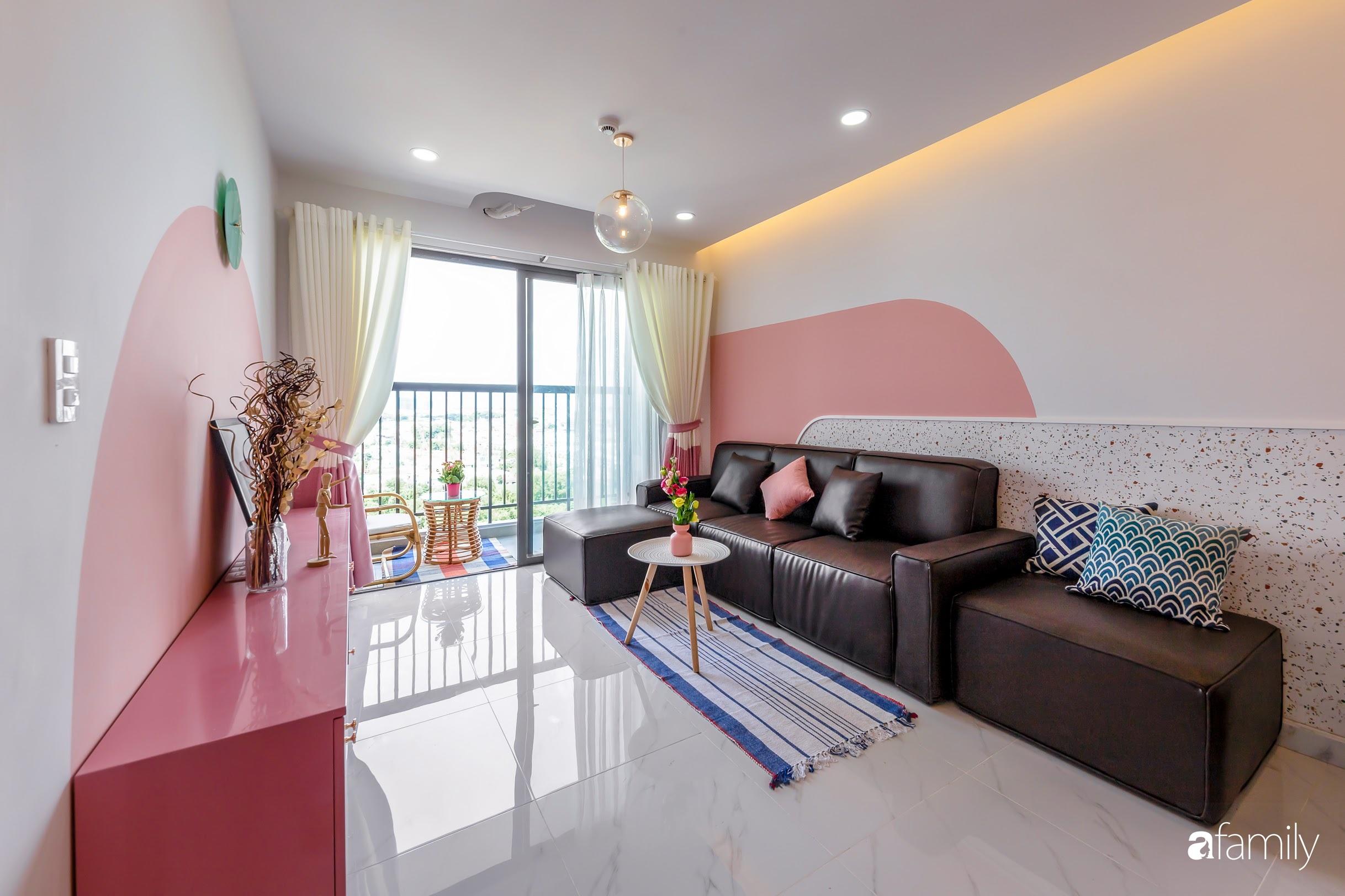 Căn hộ 100m² ngọt ngào khi chọn sắc hồng làm màu chủ đạo có chi phí hoàn thiện 450 triệu đồng ở TP HCM - Ảnh 6.