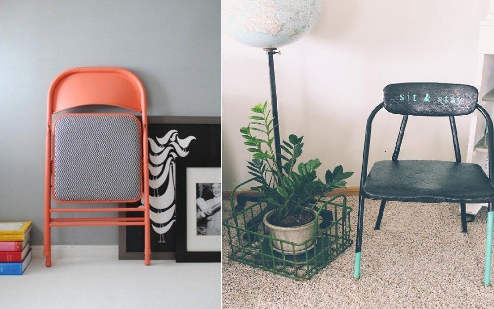Quá chán với chiếc ghế gập cũ, bạn có thể làm cách này để giúp chúng mới cong như vừa được mua từ cửa hàng về