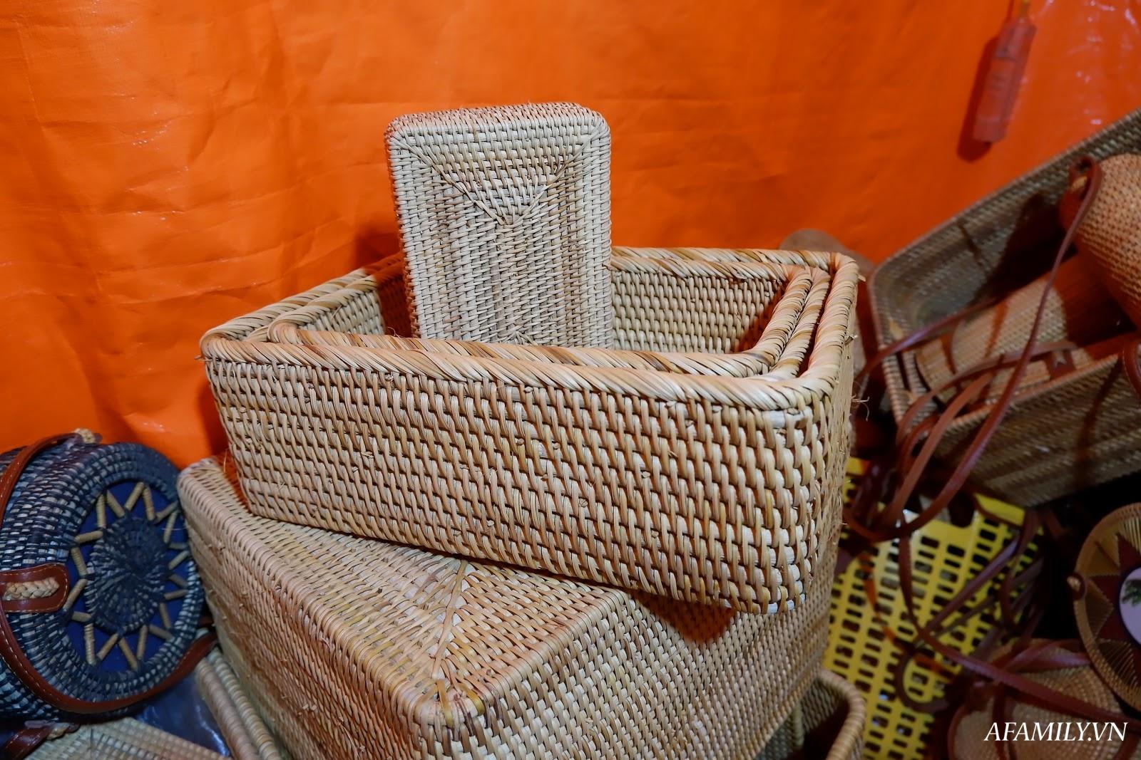 Bỏ công sức một chút ra ngoại thành, chị em tha hồ lựa các sản phẩm mây tre đan truyền thống chất lượng, giá thành rẻ hơn thị trường tới 70% - Ảnh 6.