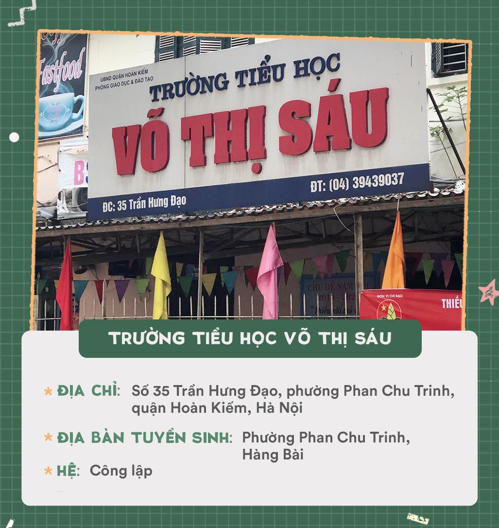 Danh sách 13 trường tiểu học quận Hoàn Kiếm - Ảnh 1.