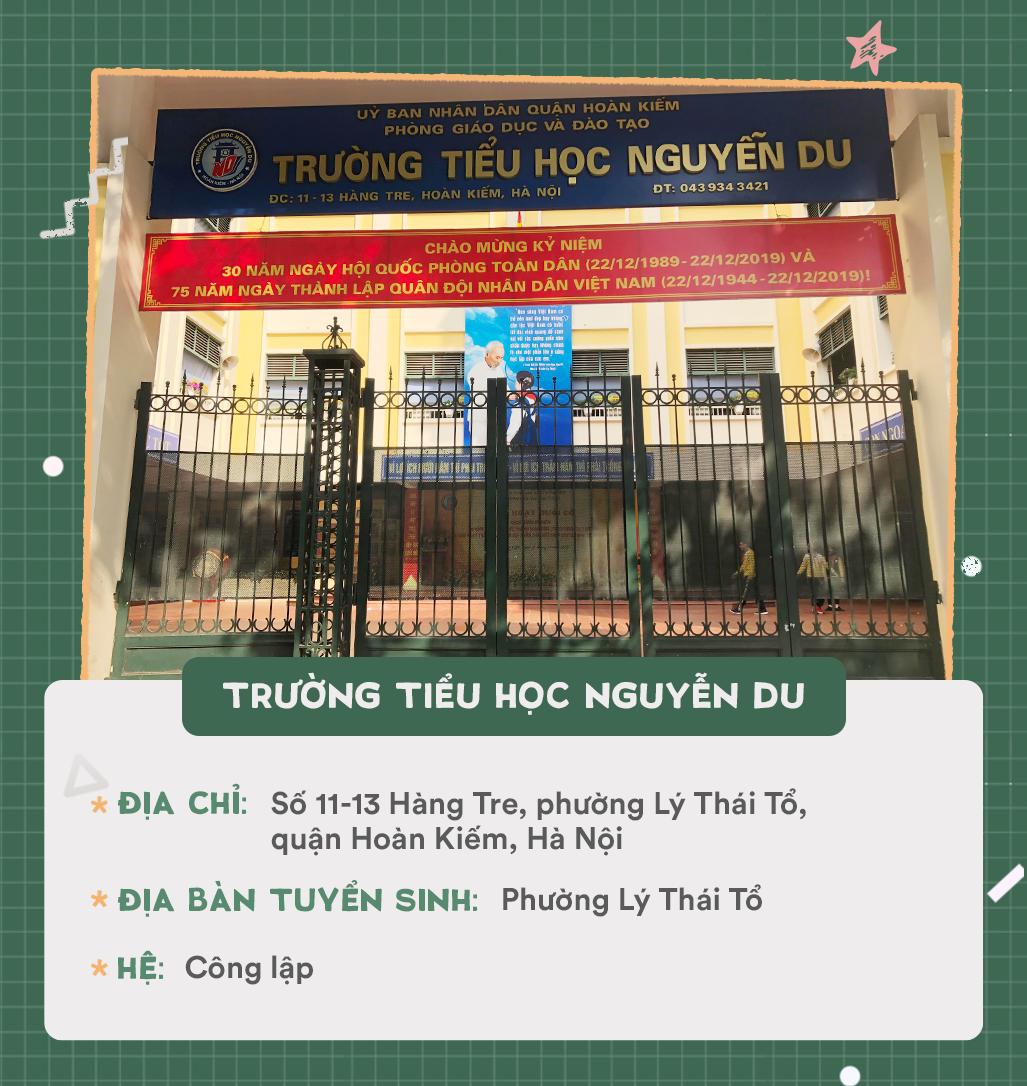 Danh sách 13 trường tiểu học quận Hoàn Kiếm - Ảnh 2.