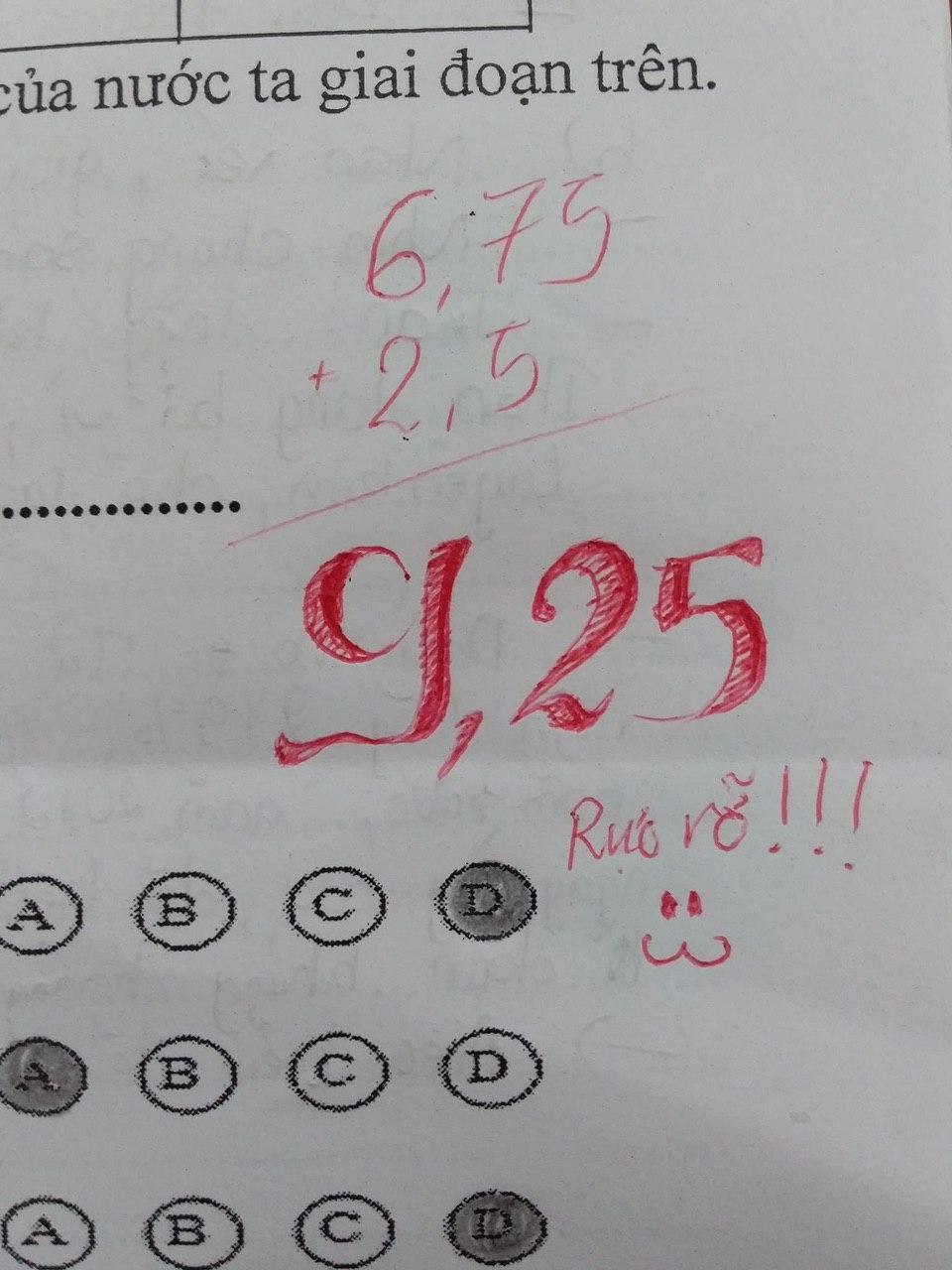 Cô giáo quá bận và nhờ người chấm bài giúp, học sinh ai nấy hú hét vì lời phê ngọt lịm tim nhưng tò mò nhất là cách chấm điểm - Ảnh 5.