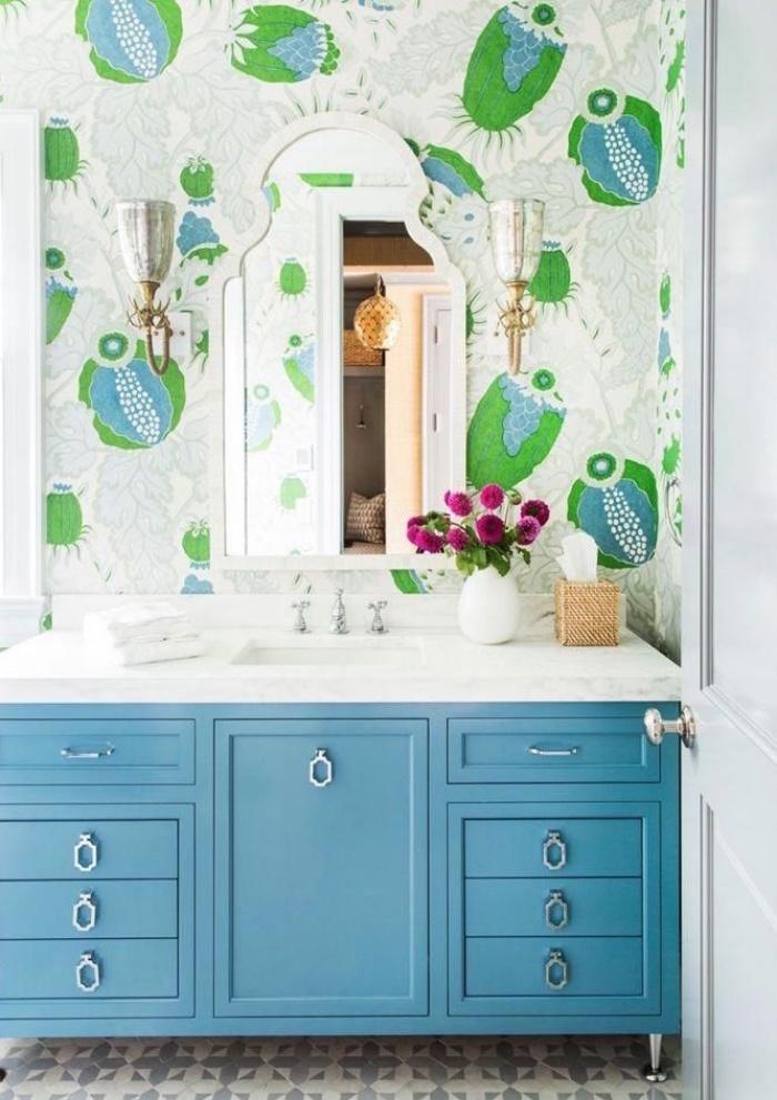 Những bí mật trang trí tường phòng tắm tạo nên không gian vui nhộn, đặc sắc - Ảnh 13.