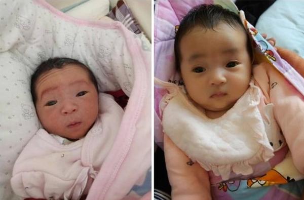 """Mẹ nghẹn ngào muốn khóc khi con gái mới sinh trông như """"củ khoai môn"""", 3 tháng sau nhìn con mà cô mãn nguyện cười nở hoa - Ảnh 4."""