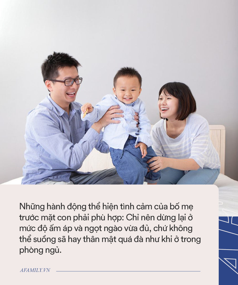 Parent coach: Bố mẹ có nên bày tỏ tình cảm trước mặt con trẻ và thể hiện như nào để không làm hại tâm hồn con? - Ảnh 3.