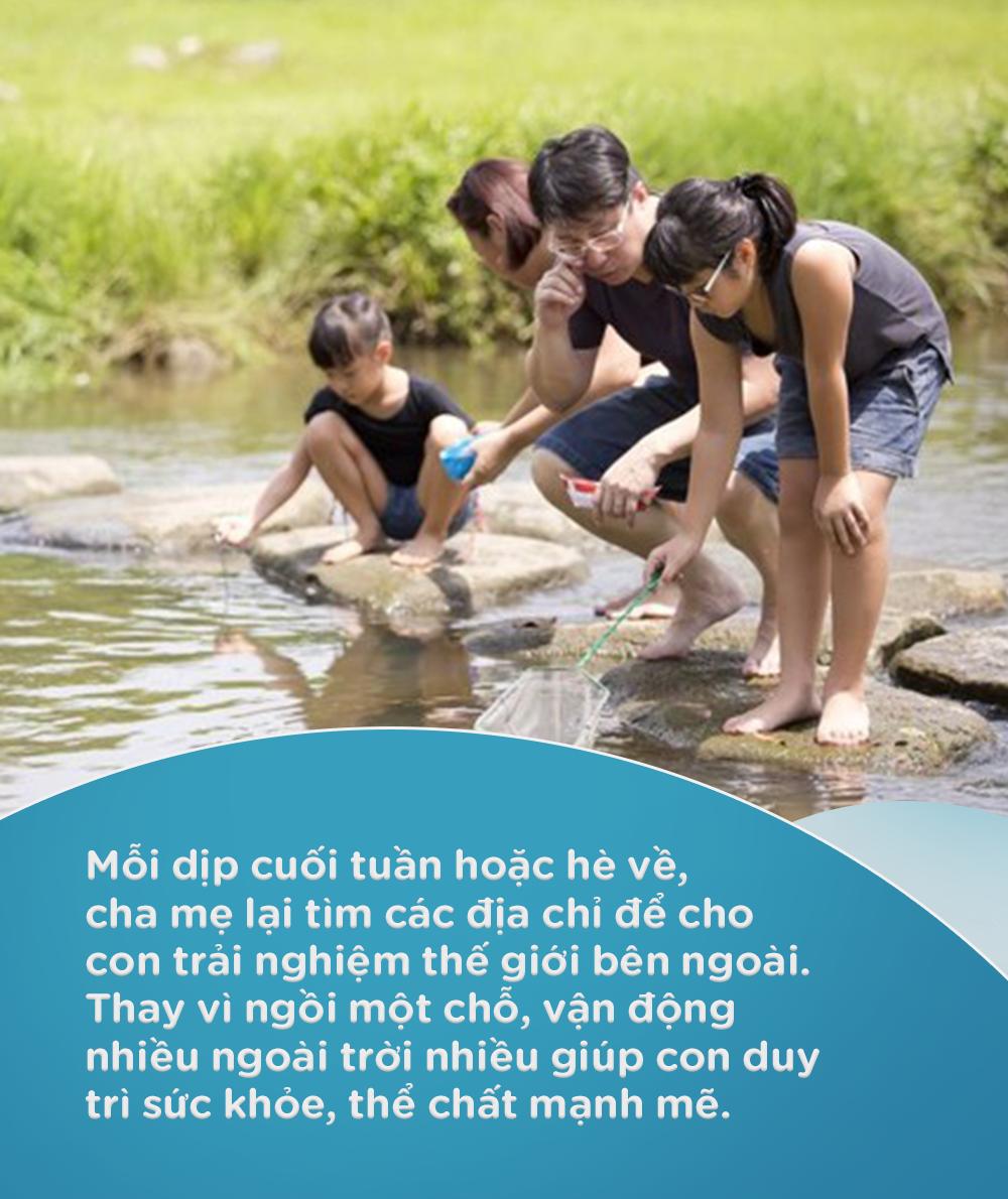 5 hoạt động thú vị giúp con cải thiện thể chất và phát triển kỹ năng trong những ngày hè mưa nắng thất thường - Ảnh 3.