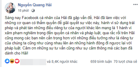 """Dân mạng bỗng chia sẻ mạnh clip Quang Hải """"nhún nhảy"""" trên chiếc xe Mercedes mới mua giữa lùm xùm bị hack Facebook lộ tin nhắn riêng tư - Ảnh 1."""