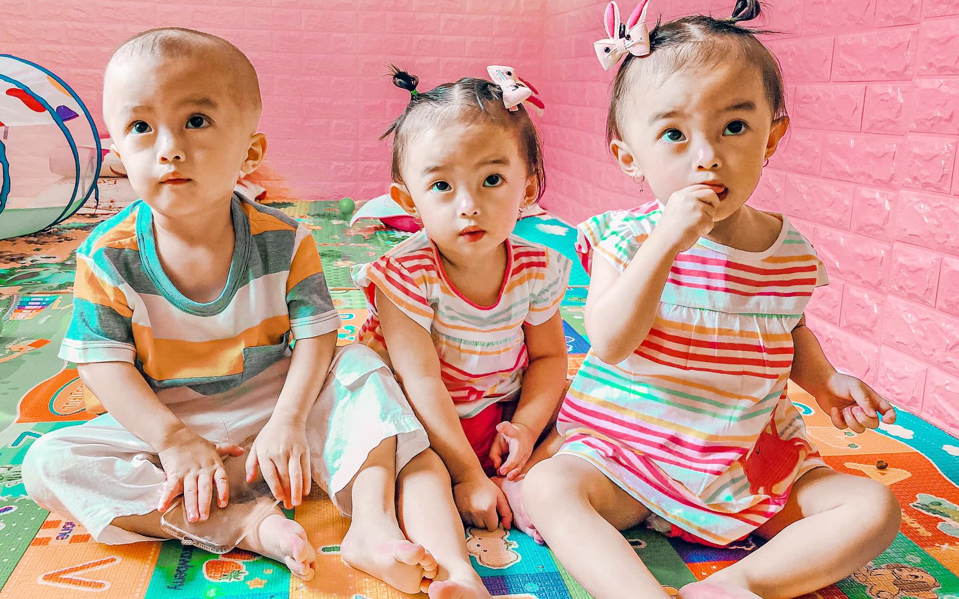 """Cuộc sống hiện tại của bà mẹ từng bất chấp nguy hiểm để sinh ba: Cả nhà """"đuối"""" vì chăm các bé, mỗi tháng tốn 25 triệu đồng"""