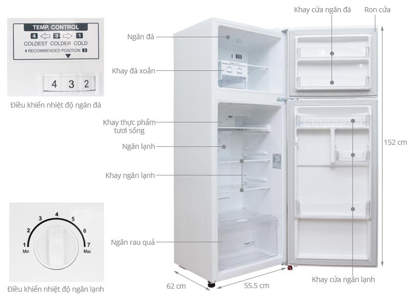 """4 mẫu tủ lạnh Inverter """"siêu tiết kiệm"""" điện lại cực bền với khoảng giá 8 triệu đáng mua cho các gia đình  - Ảnh 4."""