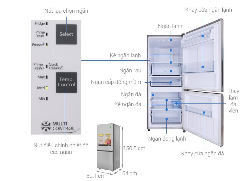 """4 mẫu tủ lạnh Inverter """"siêu tiết kiệm"""" điện lại cực bền với khoảng giá 8 triệu đáng mua cho các gia đình  - Ảnh 2."""