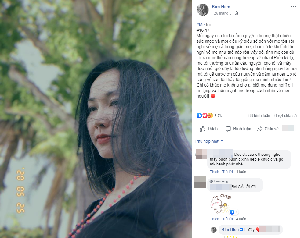 """Xót xa khi đọc lại """"nhật ký"""" của Kim Hiền trước khi mẹ qua đời, đếm từng ngày mong được gặp mẹ giờ đã không thể làm được nữa - Ảnh 6."""