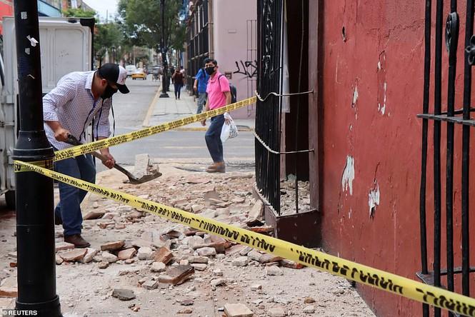 Mexico: Động đất 7,4 độ richter, ít nhất 5 người thiệt mạng - Ảnh 2.