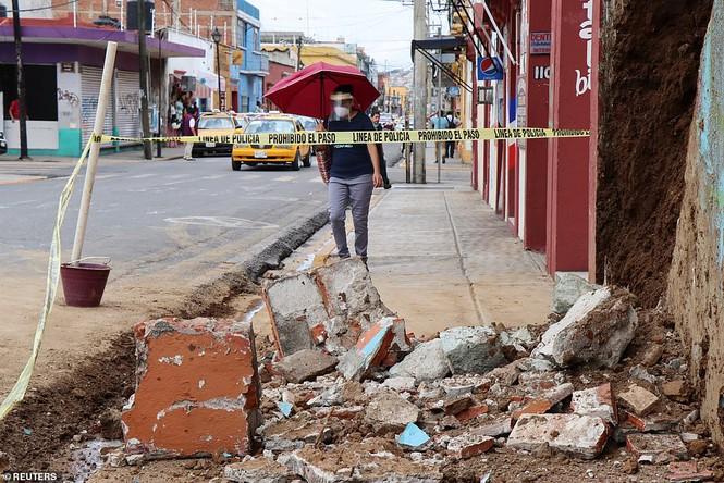 Mexico: Động đất 7,4 độ richter, ít nhất 5 người thiệt mạng - Ảnh 10.