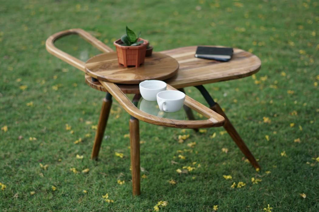 Thiết kế độc đáo như chú bọ cánh cứng, chiếc bàn trà ăn gian diện tích được lòng hội chị em sở hữu nhà nhỏ hẹp - Ảnh 4.