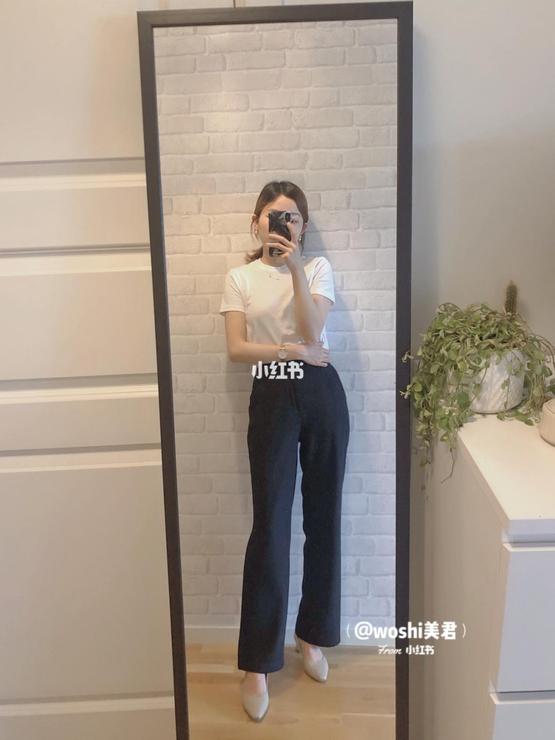 """Nàng công sở cao 1m58 và nặng 43kg bật mí món đồ """"tủ"""" giúp cô nhìn dong dỏng cao dù thường xuyên đi giày bệt - Ảnh 2."""