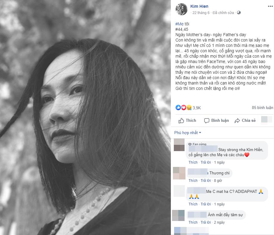 """Xót xa khi đọc lại """"nhật ký"""" của Kim Hiền trước khi mẹ qua đời, đếm từng ngày mong được gặp mẹ giờ đã không thể làm được nữa - Ảnh 8."""