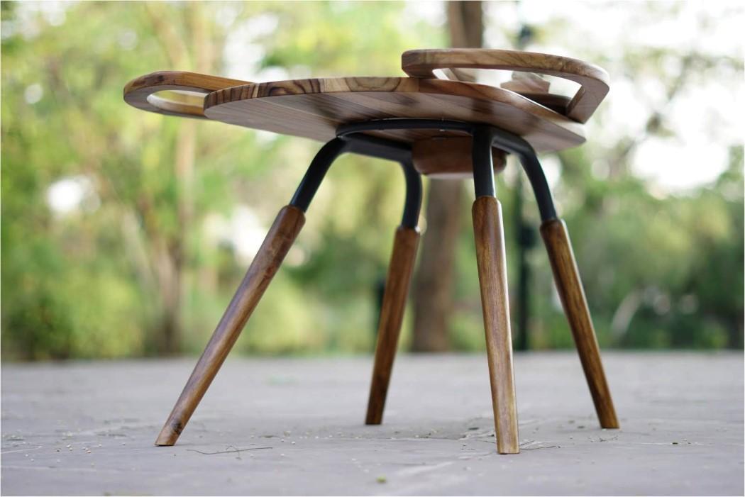 Thiết kế độc đáo như chú bọ cánh cứng, chiếc bàn trà ăn gian diện tích được lòng hội chị em sở hữu nhà nhỏ hẹp - Ảnh 9.