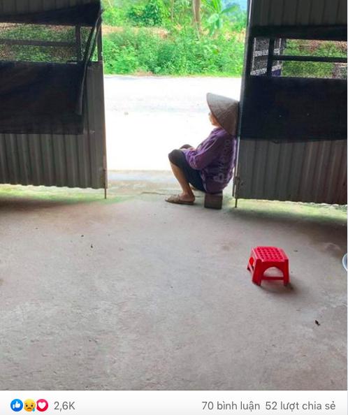 Hình ảnh người bà ngồi ghế đợi cháu mỗi chiều và câu chuyện phía sau khiến hàng nghìn người rơi nước mắt - Ảnh 2.