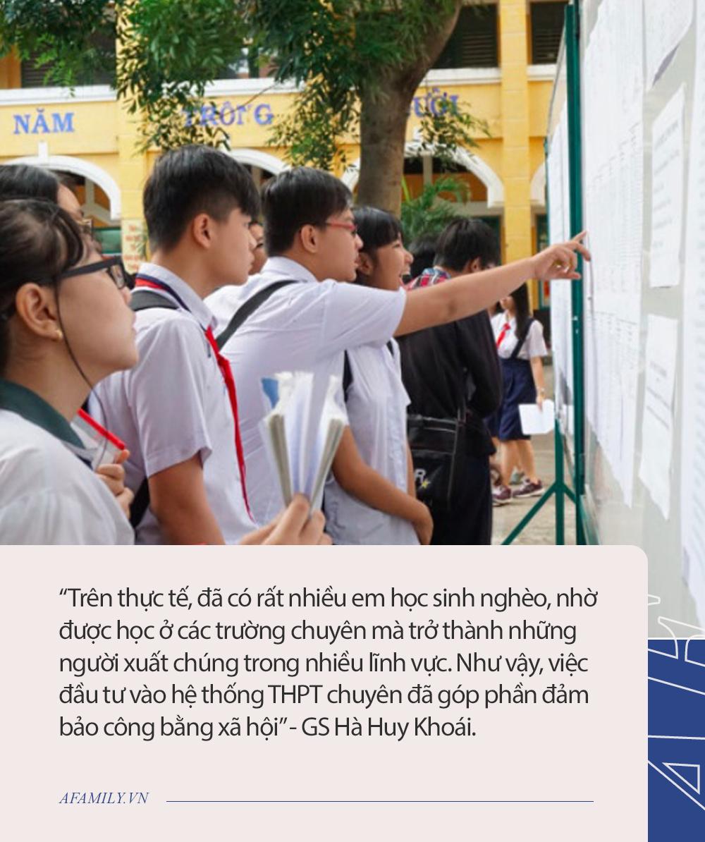 """GS Hà Huy Khoái chia sẻ quan điểm đang gây tranh cãi: """"Dạy gì ở trường chuyên và sau trường chuyên, làm gì?"""" - Ảnh 2."""