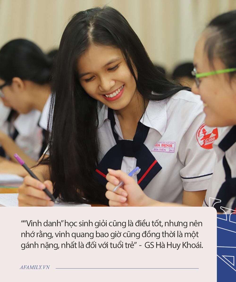 """GS Hà Huy Khoái chia sẻ quan điểm đang gây tranh cãi: """"Dạy gì ở trường chuyên và sau trường chuyên, làm gì?"""" - Ảnh 4."""