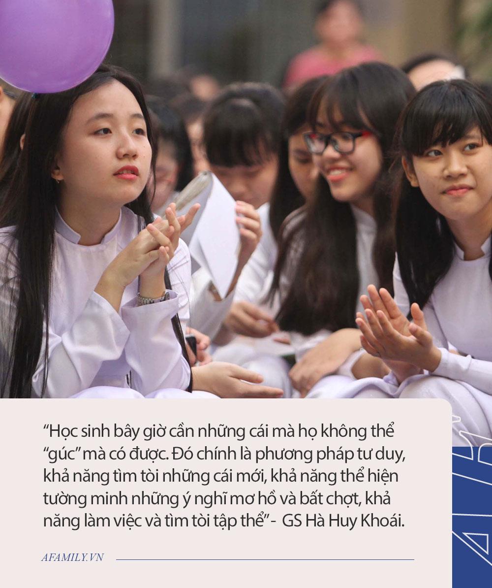 """GS Hà Huy Khoái chia sẻ quan điểm đang gây tranh cãi: """"Dạy gì ở trường chuyên và sau trường chuyên, làm gì?"""" - Ảnh 3."""