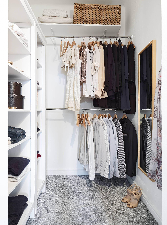Những kiểu dáng tủ quần áo vừa thời trang vừa giúp đựng được vô số đồ đạc dành cho nhà nhỏ - Ảnh 8.