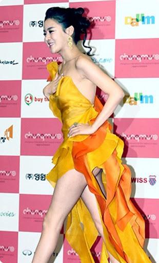 Loạt sự cố trang phục sốc tận óc của các mỹ nhân châu Á, xem mà vừa ngượng vừa thương cho các nàng - Ảnh 5.