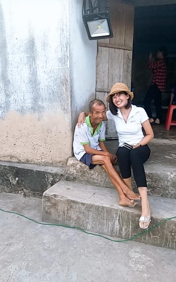 Nghị lực sống của góa phụ trẻ mắc bệnh ung thư, hàng ngày vẫn đi làm nuôi con và hăng say công tác thiện nguyện - Ảnh 3.