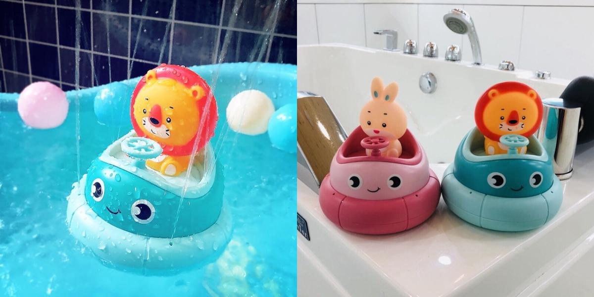 Gợi ý vài món đồ dùng, đồ chơi cho bé tắm vui mà bố mẹ cũng đỡ mệt hơn vài phần - Ảnh 6.