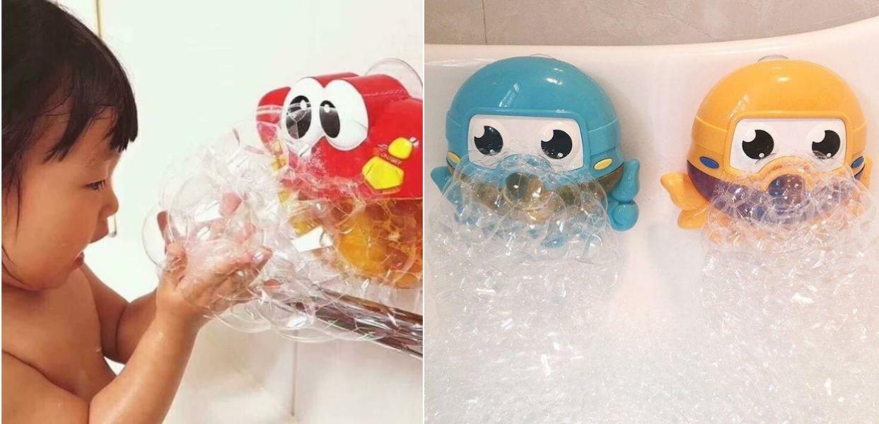 Gợi ý vài món đồ dùng, đồ chơi cho bé tắm vui mà bố mẹ cũng đỡ mệt hơn vài phần - Ảnh 4.