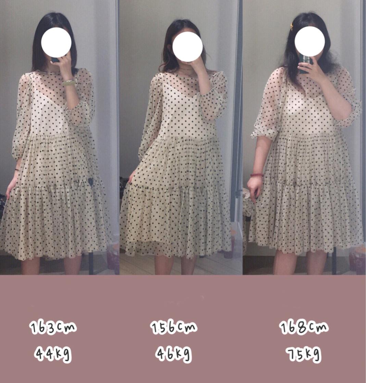3 cô nàng thử loạt váy của H&M và rút ra kết luận: Mẫu mặc đẹp, nhưng lên dáng mỗi người lại là 1 câu chuyện khác  - Ảnh 3.