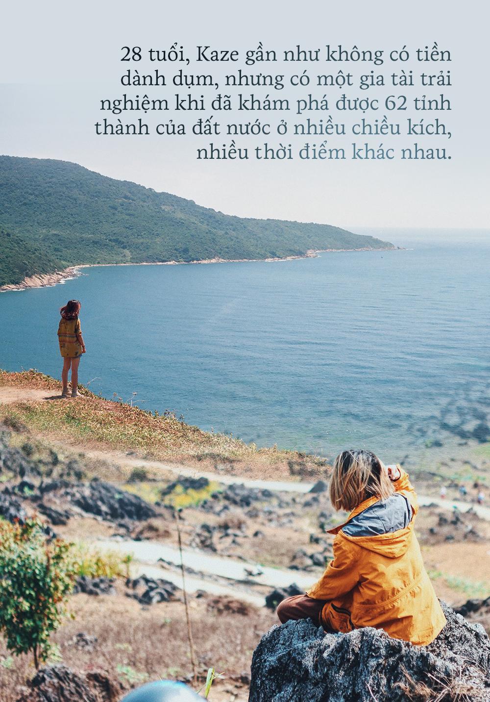 """Cô gái 9X đổ hết vốn liếng 10 năm đi làm để đi chơi: Du lịch 62 tỉnh thành Việt Nam vẫn chưa thấy """"đã"""" - Ảnh 2."""