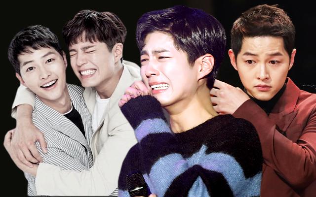 """Ẩn tình nào phía sau mối quan hệ """"nguội lạnh tàn tro"""" của Song Joong Ki và Park Bo Gum: Xem nhau như anh em ruột thịt nhưng quay lưng đã trở thành người dưng sau vụ ly hôn thế kỷ?  - Ảnh 7."""