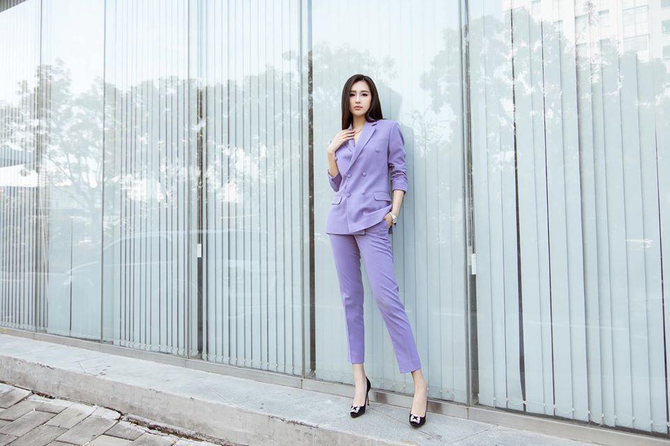 Sao Việt khi diện suit tím hot trend: Người đẹp tinh tế, người sến sẩm; nàng công sở xem cũng rút được khối kinh nghiệm - Ảnh 3.